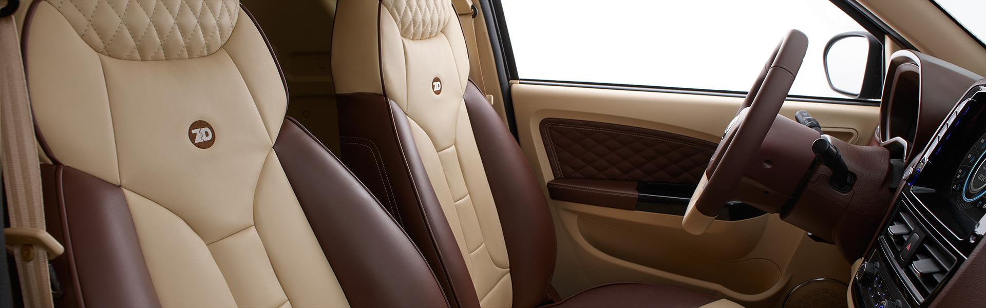 interior ds2 cuero marrón