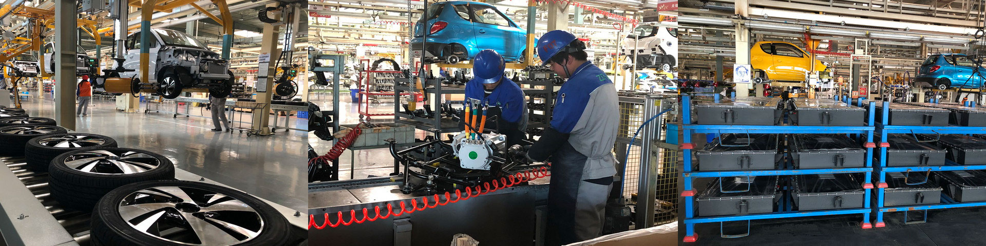 fabrica de coches eléctricos Zhidou